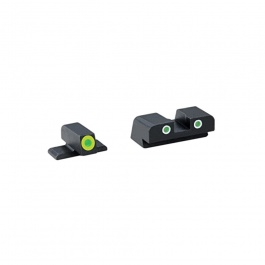 AmeriGlo Cus Tritium Combination Sight Spr XD Green/Green-Green AMGXD743