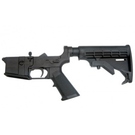 CMMG Lower Complete w/6-Pos Mil-Spec