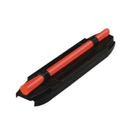 Hi-Viz Wide Magnetic Front Shotgun Sight w/Red