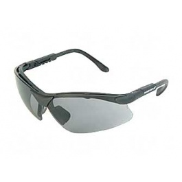 Radians Revelation Safety Glasses Black frame Dark Smoke Lens RV0120CS