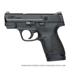"S&W M&P Shield 9MM 3 1/8"" Black 7&8rd No Safety 10035"