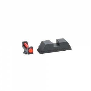 AmeriGlo Target Comp Sight Glock 17/19/22 Red-Black AMGGFT113