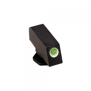 AmeriGlo Tritium Front Sight All Glock White Outline .350-.125 AMGGL112350