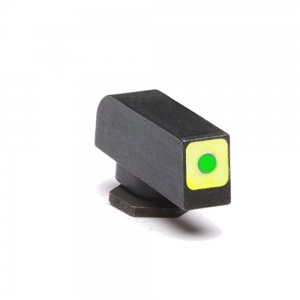 AmeriGlo Tritium Front Sight All Glock Green Square Outline .165-.123 AMGGL212165120Q