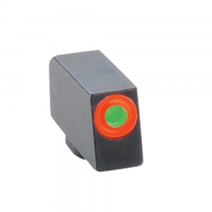 AmeriGlo Tritium Front Sight All Glock Orange Round Outline .240-.140 AMGGL212240ORC
