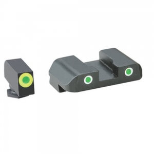 AmeriGlo Cus Tritium Combination Sight Glock 20/21 Green/Green-Green AMGGL247