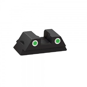 AmeriGlo Tritium Front Sight Glock 42/43 Green-White Outline .150 AMGGL380R