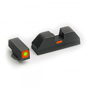 AmeriGlo Cap Sight Glock 20/21/29/30/31/32 Orange-Orange AMGGL617