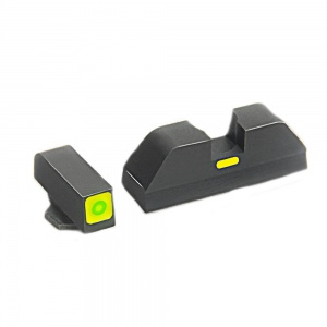 AmeriGlo Cap Sight Glock 17/19/22/23 Green Thin-Green AMGGL624
