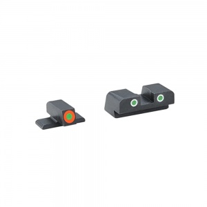 AmeriGlo Cus Tritium Combination Sight Sig Sauer N8 Ht Green/Orange-Green AMGSG741