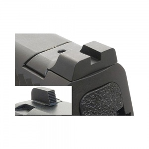 AmeriGlo Def Pro Black Sights S&W M&P Npro Black-Black AMGSW103