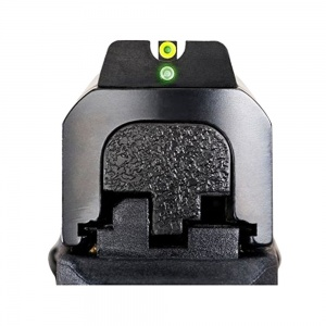 AmeriGlo I-Dot Night Sight S&W M&P Npro Green/Orange-Green Round Outline AMGSW501