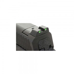 AmeriGlo Green Tritium Rear Sight S&W M&P White Outline AMGSW801R