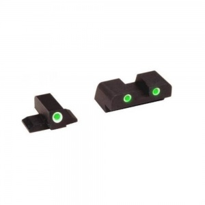 AmeriGlo Classic 3 Dot Green Tritium Night Sight All Springfield XD XD-191