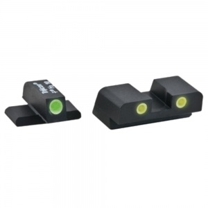AmeriGlo Classic 3 Dot Green/Yellow Night Sight All Spr XD AMGXD193