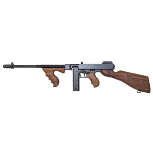 "Auto Ordnance 1927A1 Deluxe Rifle .45ACP 16"" Barrel Walnut Stock 20rd Black T1-14"