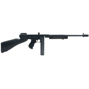 "Auto Ordnance 1927A1 Commando Rifle .45ACP 16.5"" Barrel Wood Stock Black Finish 30rd T1C"