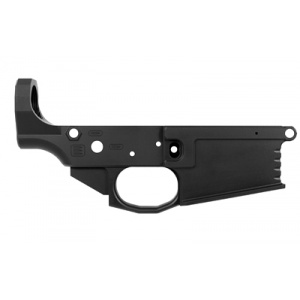Black Rain Stripped Lower Receiver .308WIN/7.62NATO Milled Black Finish BRO-MLR-308 BRO-MLR-308