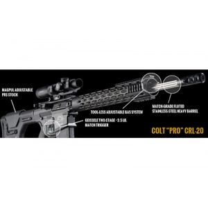 "Colt Competition CR-Pro. 308WIN 20"" SS Black Flt 20rd"