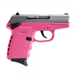 """SCCY CPX-2 9MM 10rd Satin/Pink 3.1"""""""