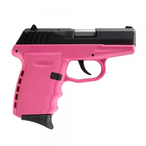 """SCCY CPX-2 9MM 10rd Black/Pink 3.1"""""""