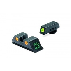 Meprolight TD for Glock 17,19,22,23 Green/Orange MAK10224O
