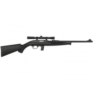 "Mossberg 702 Plinkster .22LR 18"" Youth Blue w/Scope"