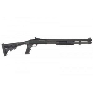 "Mossberg Model 590A1 12 Gauge 20"" 9rd Tri-Rail 6 Position Stock"