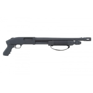 "Mossberg Model 500 Tactical Cruiser 12 Gauge 18.5"" Blue Pistol Grip Brchr"