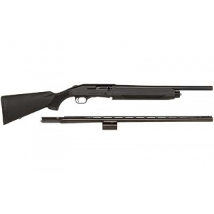 "Mossberg Model 930 12 Gauge 28"" & 18.5"" Combo Matte AccuSet Blue Synthetic"