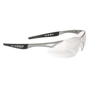 Radians Rock Safety Glasses Silver frame Clear Anti-Fog Lenses RK6-11CS