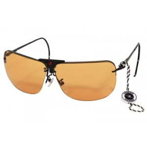 Radians RSG-3 Shooting Glasses Metal Frame Interchangeable Lenses - Clear, Orange & Amber RSG-3LK