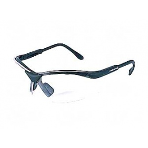 Radians Revelation Safety Glasses Black Frame Clear Lens RV0110CS