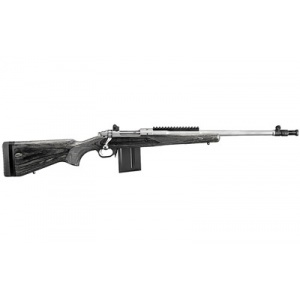 """Ruger Gunsite Sct 308 18.7"""" Stainless 10rd"""