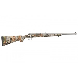 "Ruger 77/44 .44Mag 18.5"" Stainless 4rd Camo Stock"