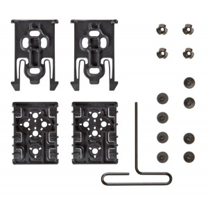 Safariland ELS-Kit1-2 Equipment Locking Kit  Black