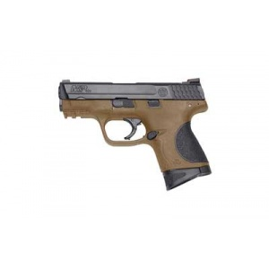"S&W M&P .40S&W 3.5"" 10rd Black/FDE Fixed Sights"