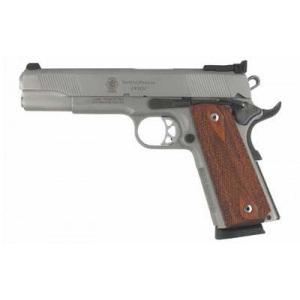"S&W Model 1911 5"" .45ACP Stainless Adjustable Sights"