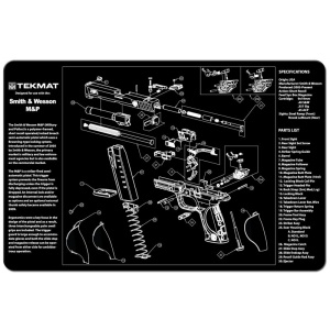 TekMat Pistol Mat S&W M&P® Black