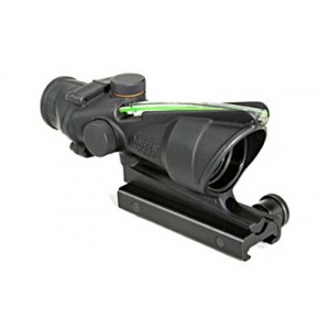 Trijicon Acog 4x32 Green Chevron w/TA51 Mount