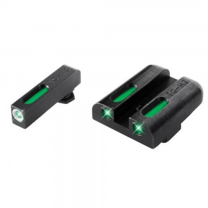 TruGlo TFX™ Tritium/Fiber-Optic Day/Night Sights - Glock Low Set TG13GL1A