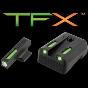 TruGlo TFX™ Tritium/Fiber-Optic Day/Night Sights - Kimber Set TG13KM1A