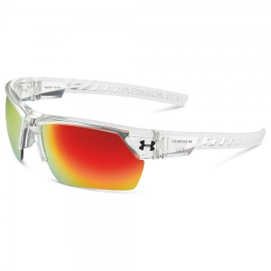 Under Armour Igniter 2.0 Shiny Clear Frame Gray/Orange Multiflection Lens