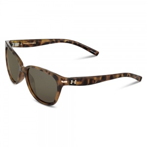 Under Armour Perfect Shiny Tortoise Frame Brown Gradient Lens