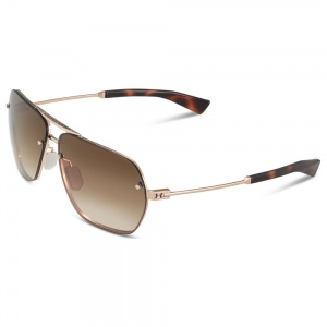 Under Armour Hi-Roll Shiny Gold/Tortoise Frame Brown Gradient Lens