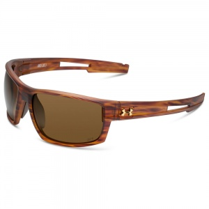 Under Armour Captain Storm Satin Wd Green Frame Brown Polarized Lens