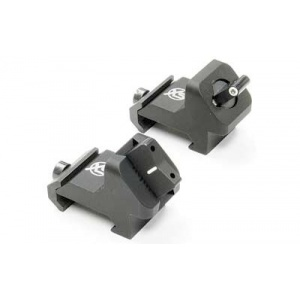 XS Systems AR-15 XTI Angle Mount Sights Green XSSAR-0007-4