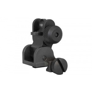 Yankee Hill Machine Co. Flip Rear Sight Black