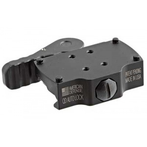 American Defense Mfg. Burris Fastfire QR Mount  Black
