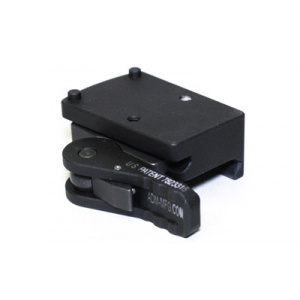 American Defense Mfg. Trijicon RMR QR Mount LH Lever  Black